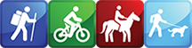 Trails Rating Icons