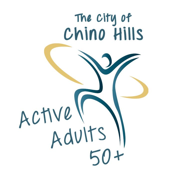 Active Adults 50 Logo with Chino Hills