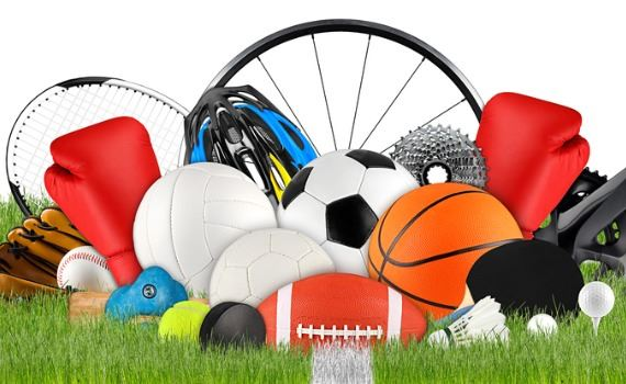 Photo of sports equipment and balls