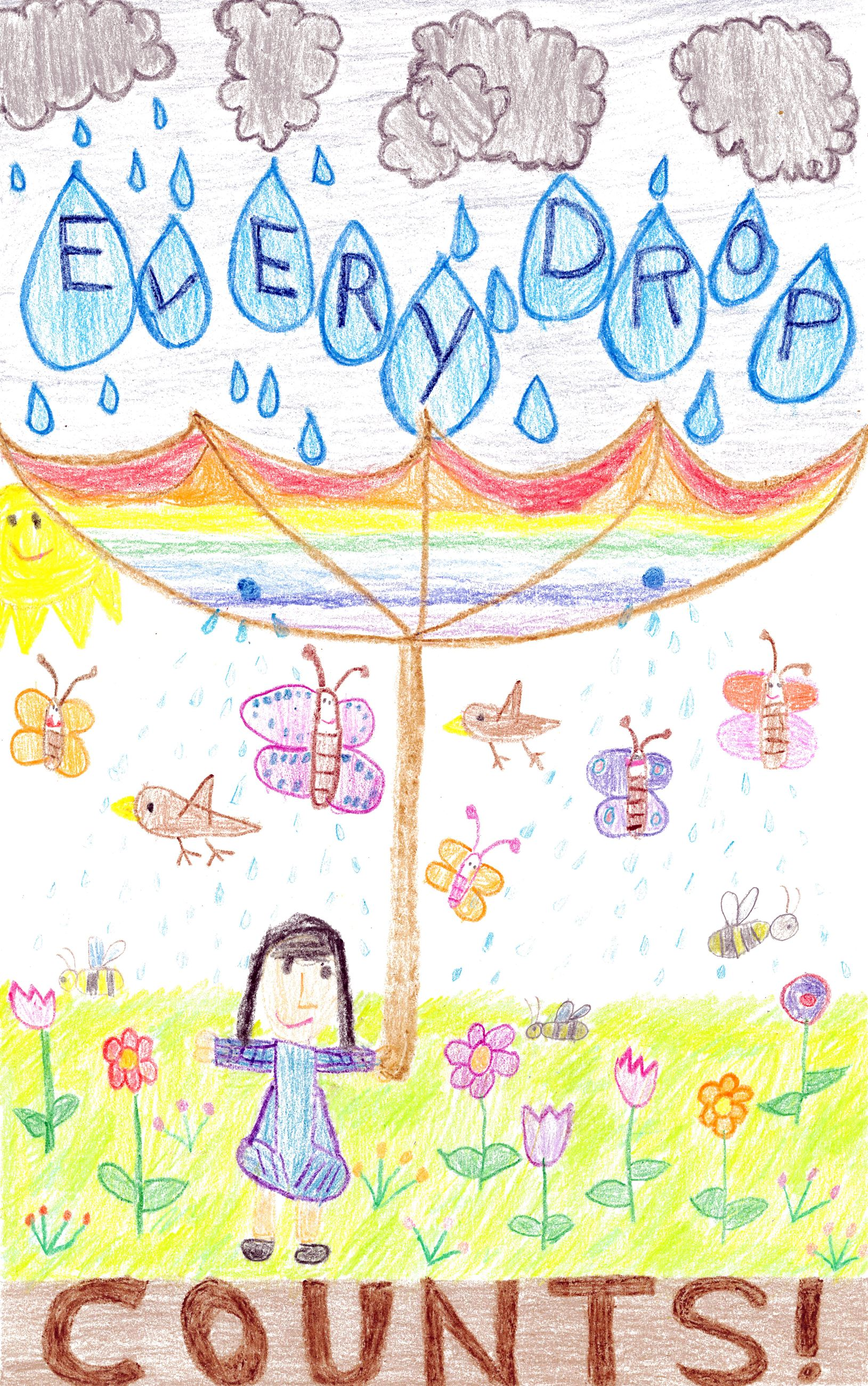 Photo of Poster Kinder 2nd place Kara Kuo