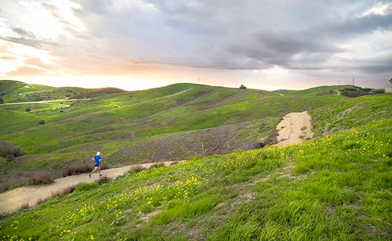 Photo of Trail Runner in Chino Hills