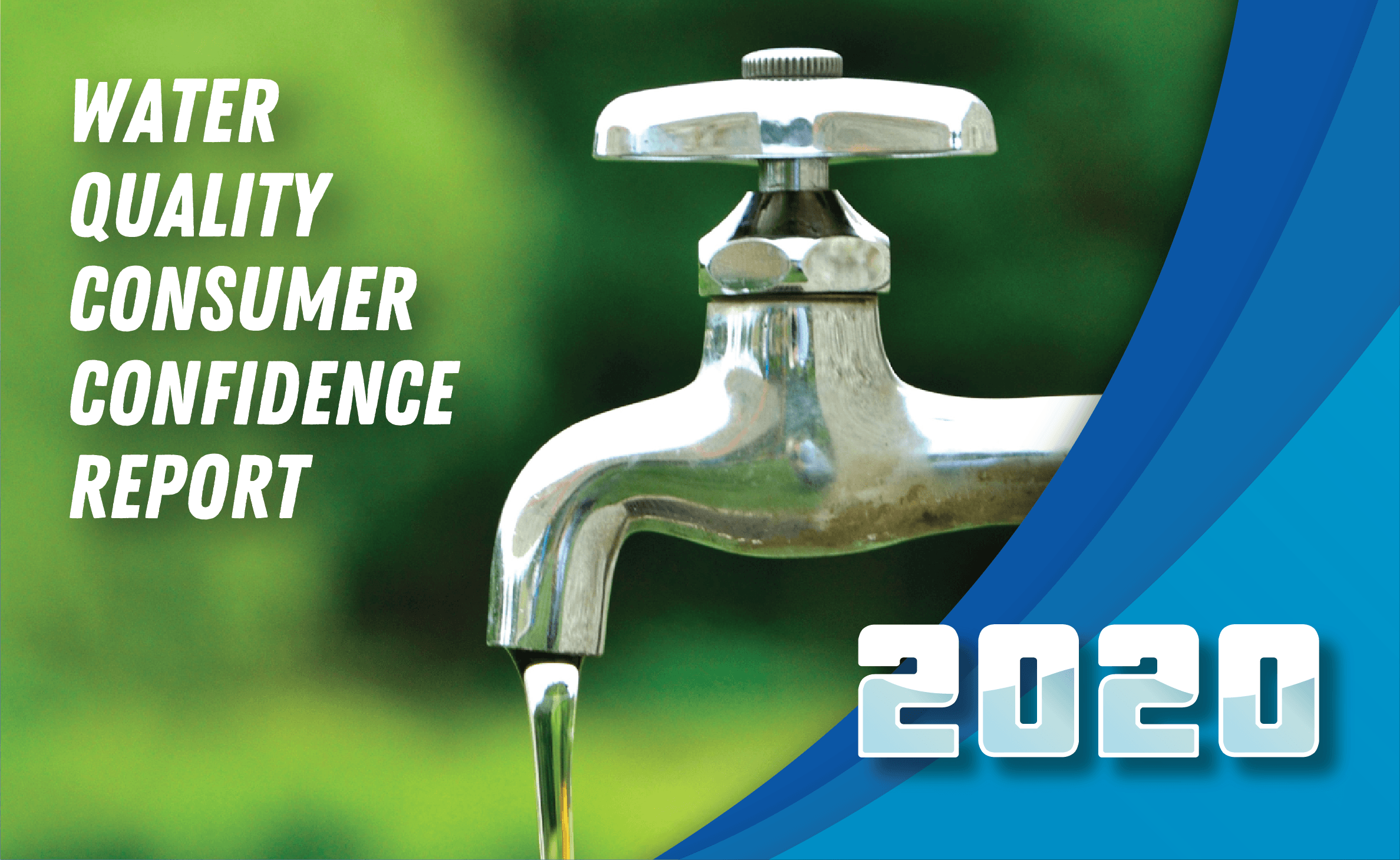 2019 Water Quality Consumer Confidence Report Cover
