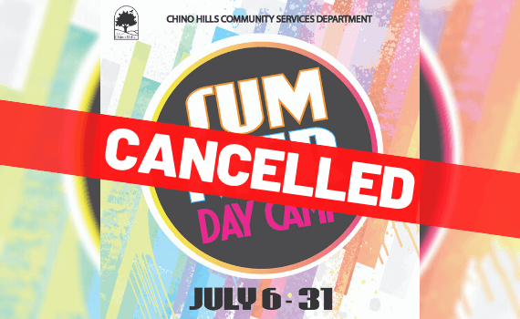 Day Camp Cancelled - Newsflash