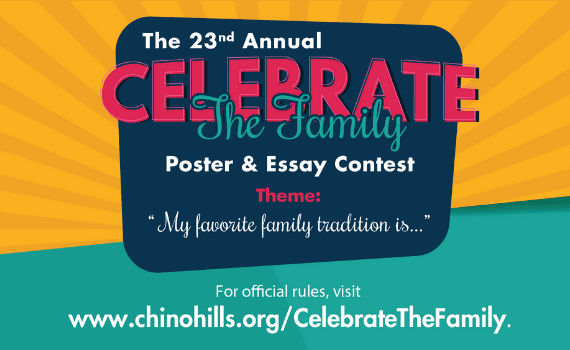 Celebrate The Family Contest graphic