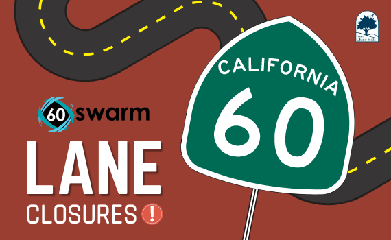 60 Swarm Lane Closures - NF