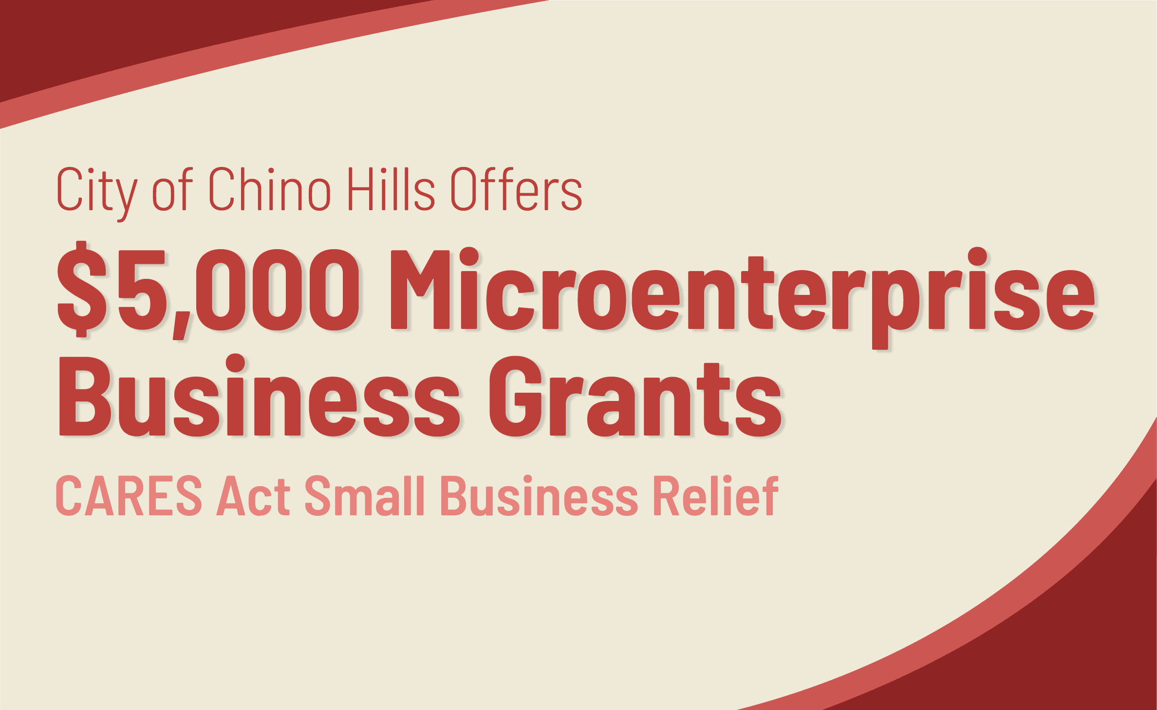 Microenterprise Business Grants - Newsflash Opens in new window