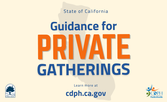 Guidance Private Gatherings - Newsflash