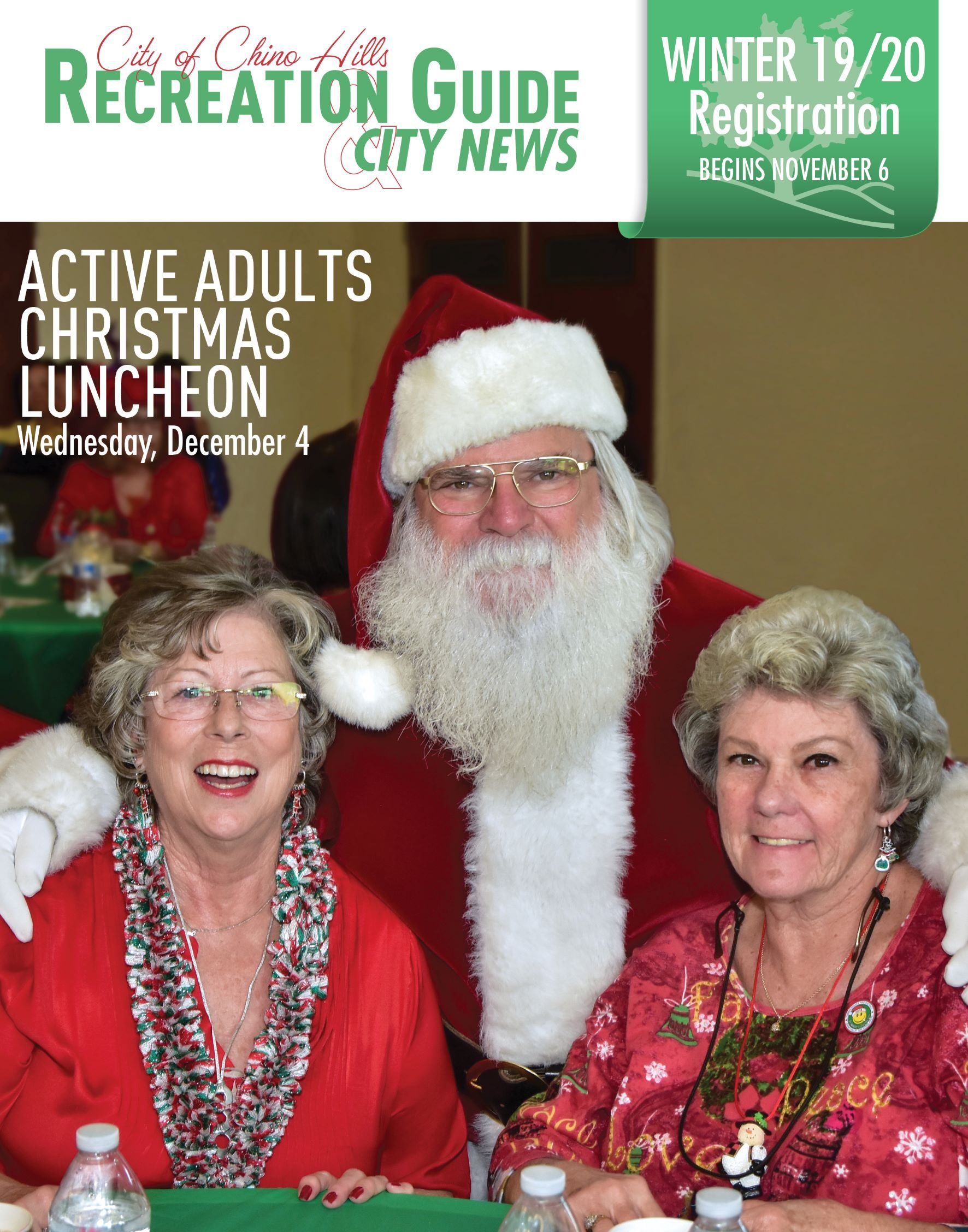 City of Chino Hills Recreation Guide and City News  Opens in new window