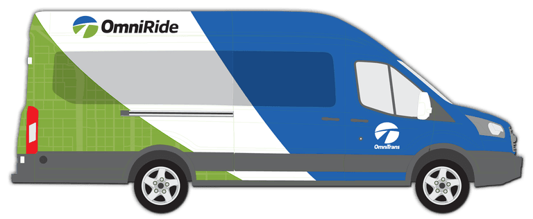 Example of OmniRide Bus