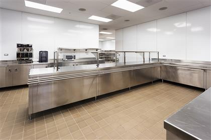 Commercial Kitchen Service Area