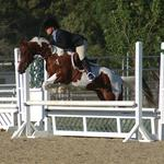 Photo taken during a competition held at the McCoy Equestrian Center