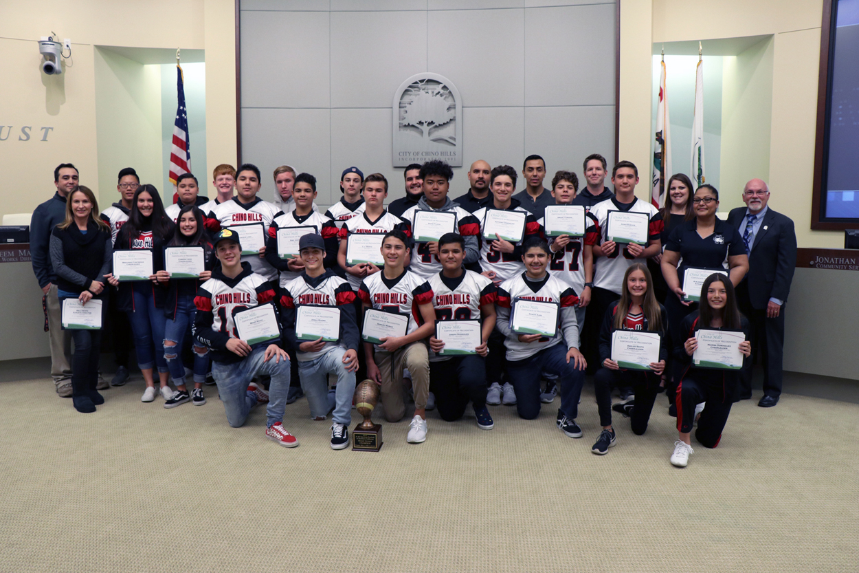 2017 Southern California Jr. All American Super Bowl Champions - Midget Division