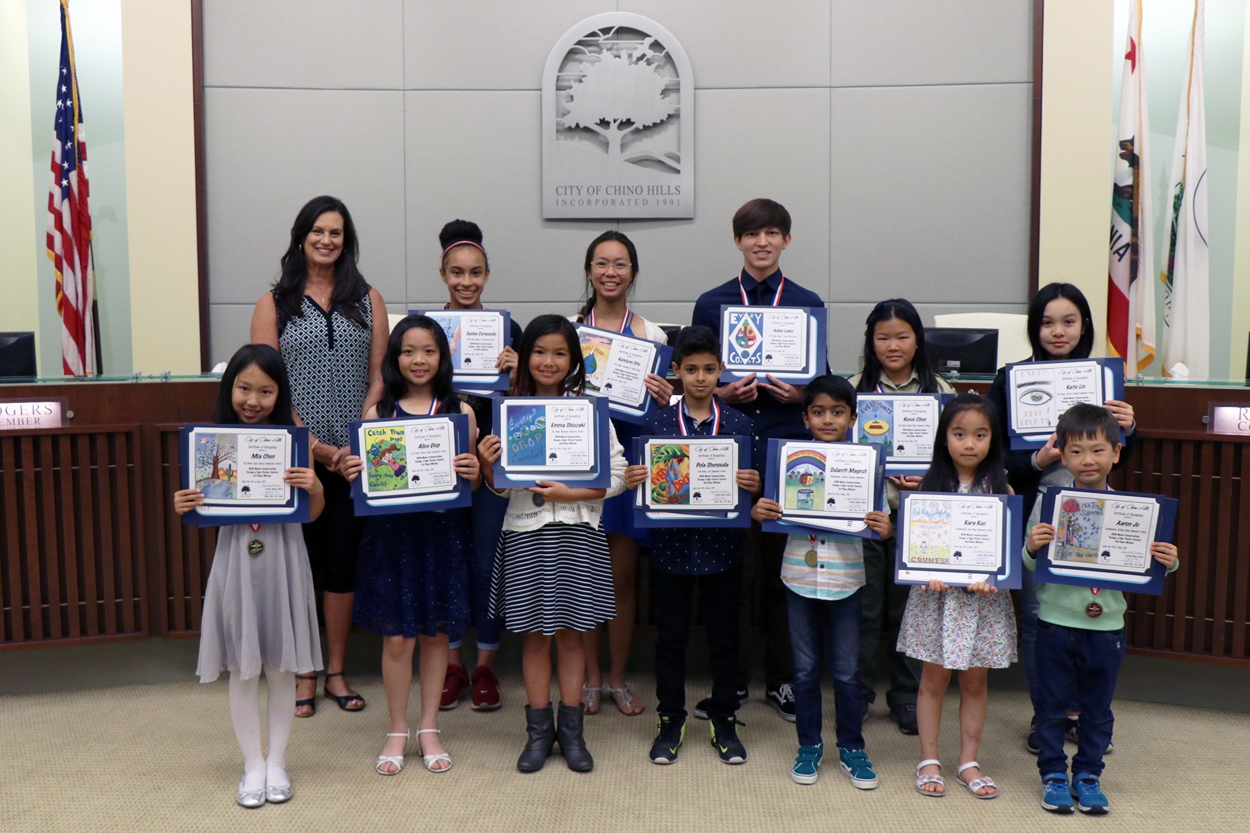 2019 Annual Water Conservation Poster Contest Winners
