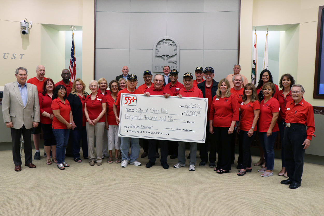 55+ Club Check Presentation