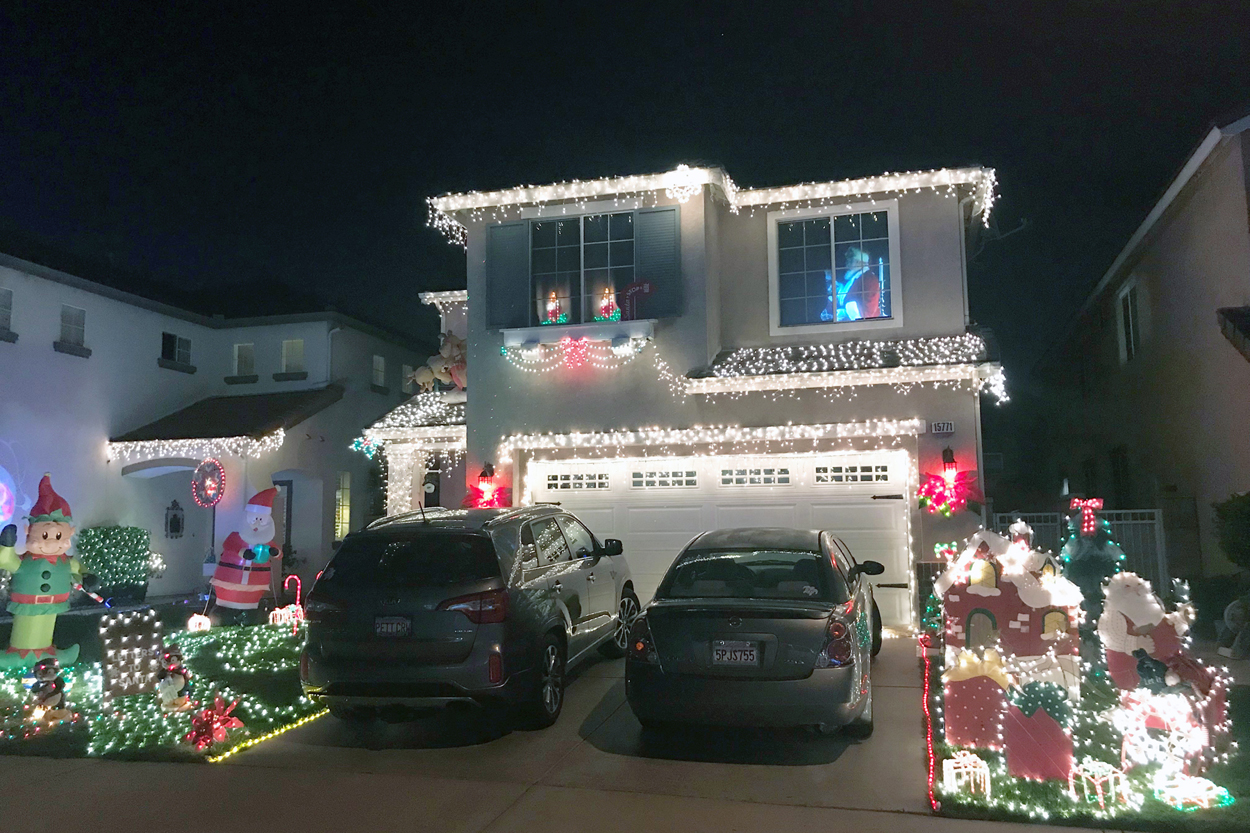 Holiday Home Decorating Contest Best Holiday Spirit Award