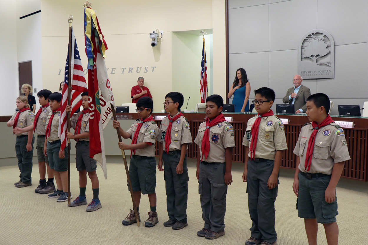 Boy Scout Troop 220 Pledge