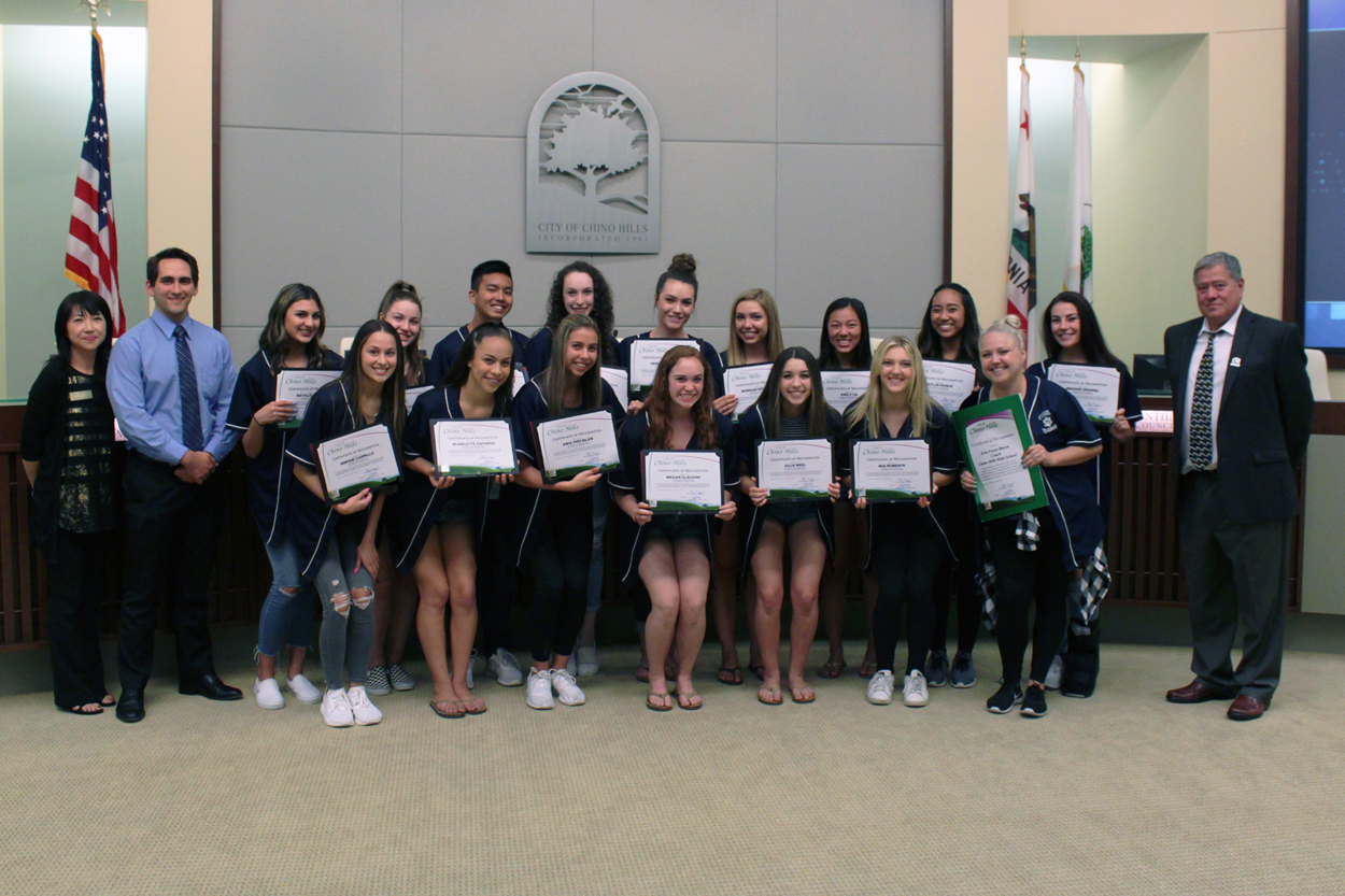 Chino Hills High School Dance Team