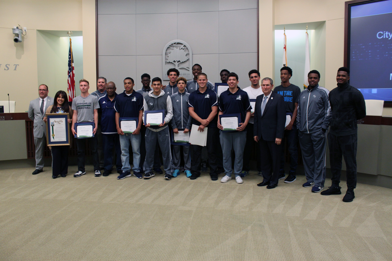 Chino Hills High School Basketball Team