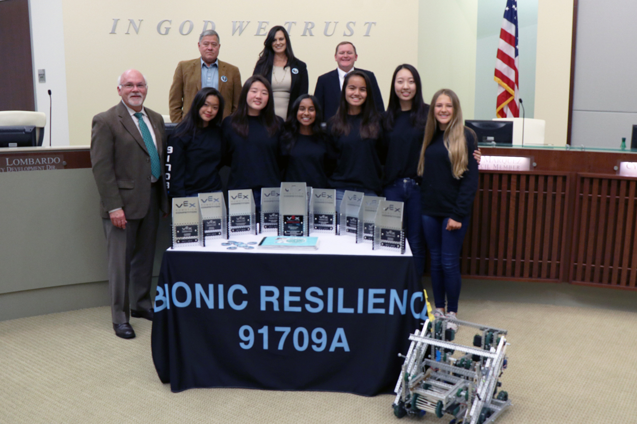 Chino Hills All Girl Robotics Team