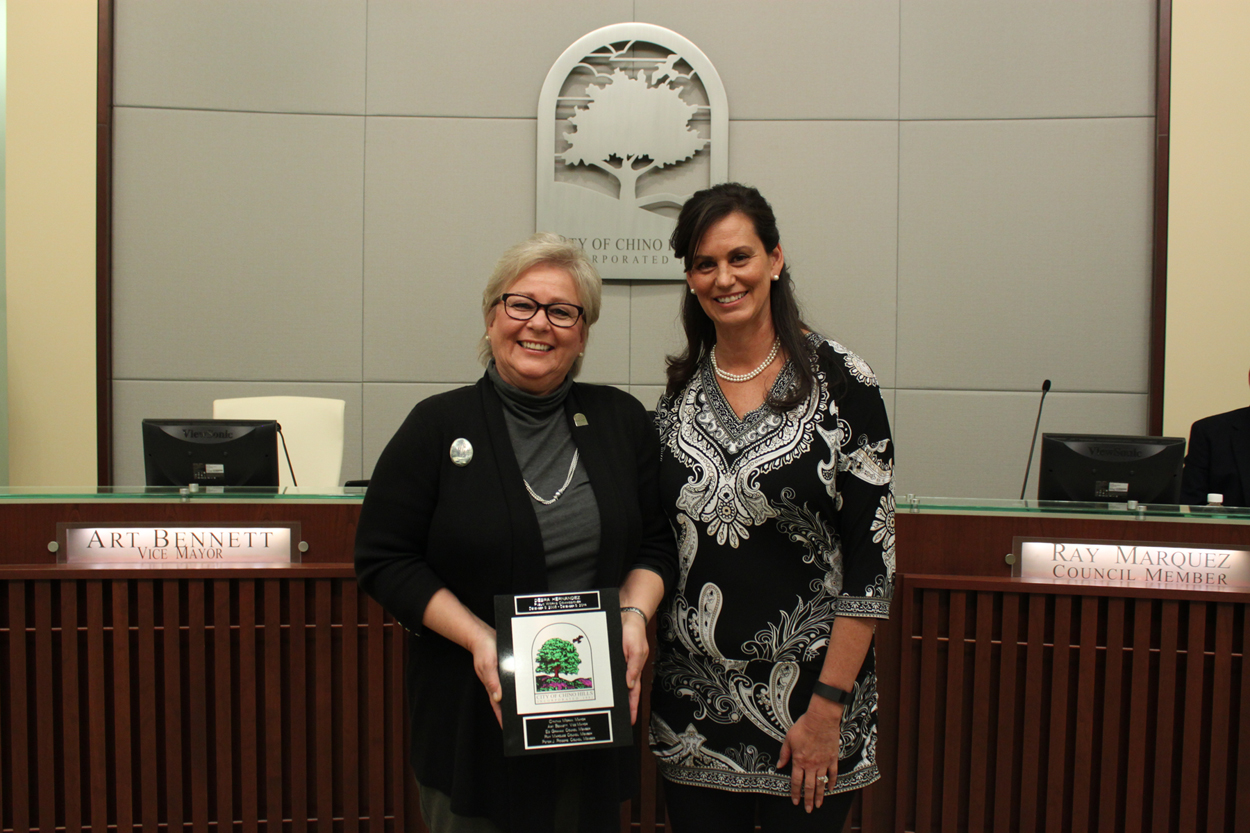 City Tile Presentation to Debra Hernandez