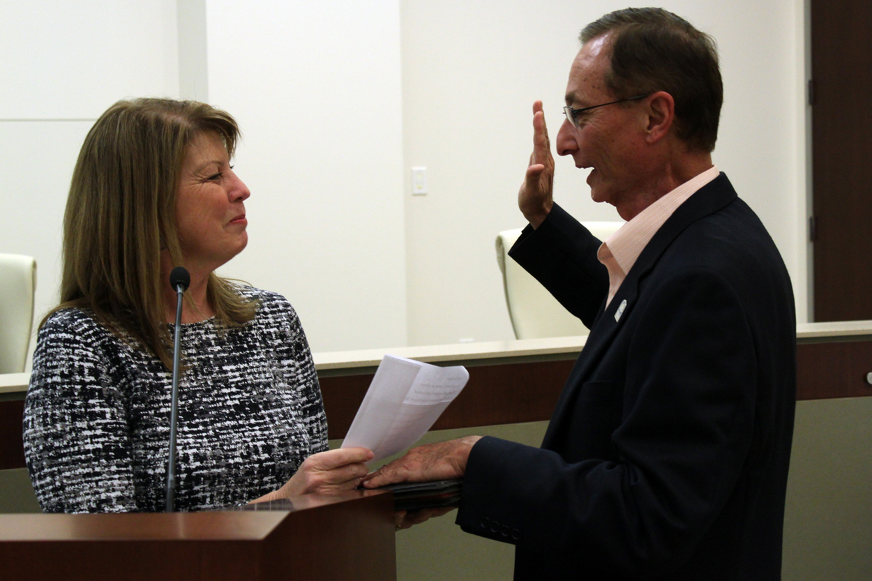 Ed Graham Oath of Office and Swearing In