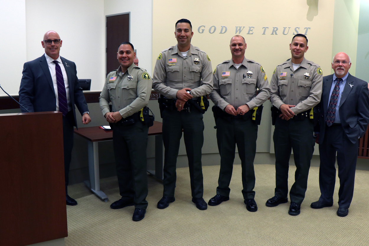 New Police Deputies