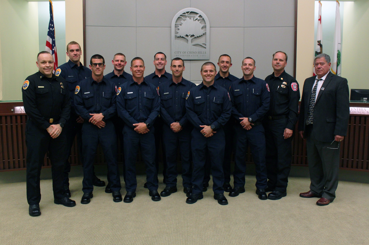 New Firefighters/Paramedics