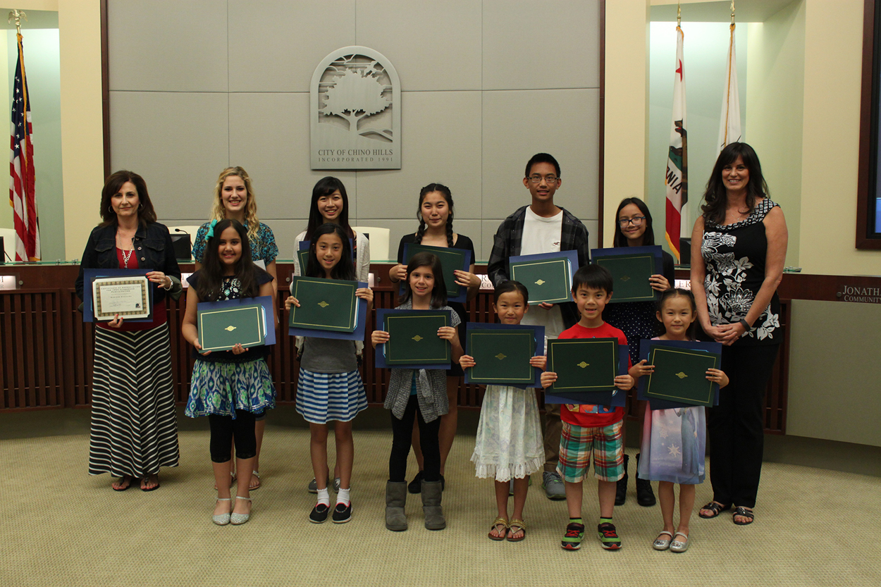2015 Winners of the 15th Annual Water Conservation Poster Contest