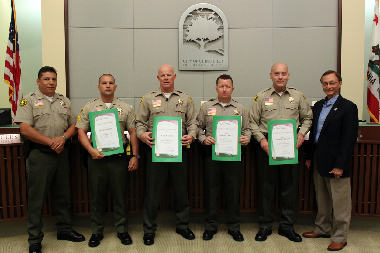 Sheriff Medal of Valor Honorees
