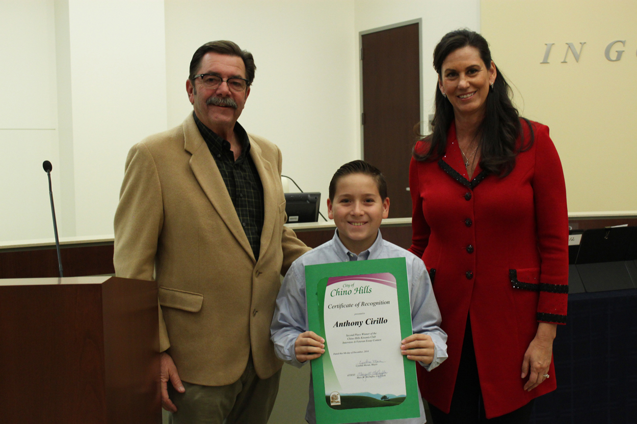 2nd Place Winner of the Interview-a-Veteran Essay Contest