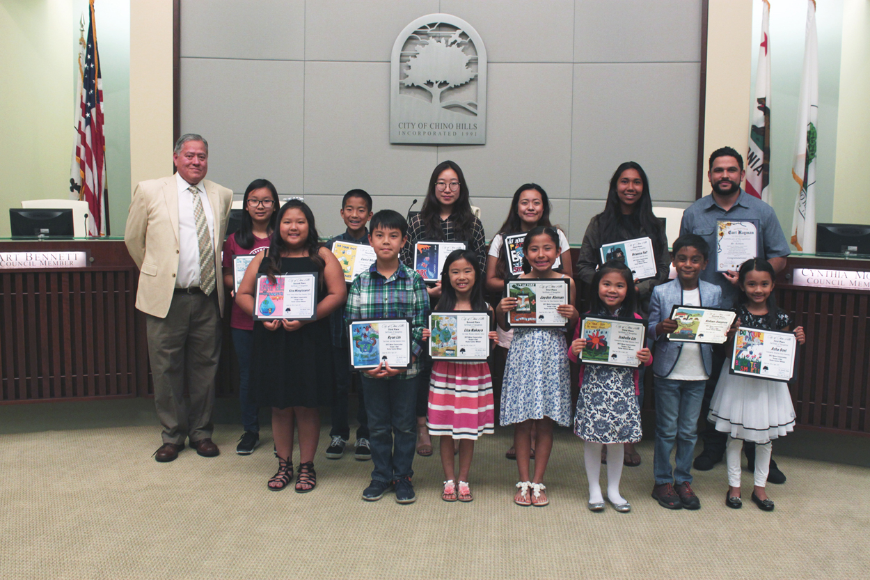 Water Conservation Poster Contest Winners