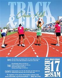 Track and Field Flyer