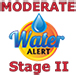 Stage 2 Moderate Conservation Alert Logo