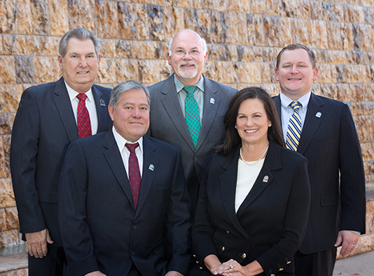 Photo of the Chino Hills City Council