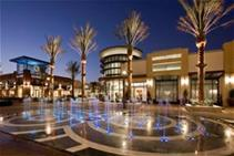 Photo of water fountain at the Shoppes at Chino Hills